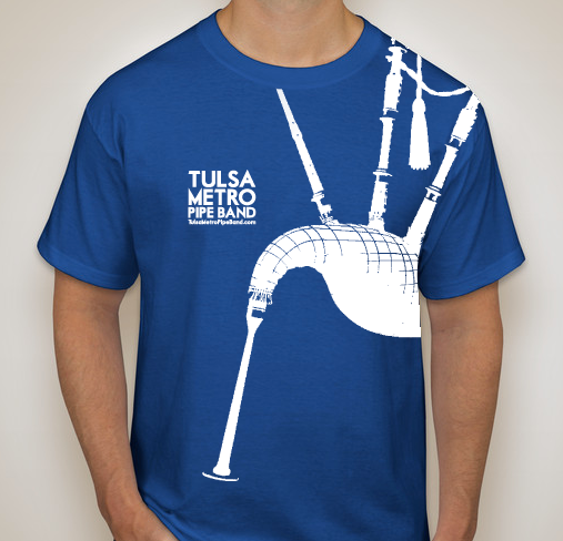Band T Shirt Design Contest Tulsa Metro Pipe Band